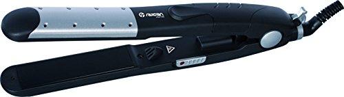 RaydanHome 26039 - Plancha/alisador de pelo, tecnologia PTC Auto Heat, 35 W, color gris y negro