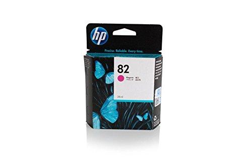 Original HP CH567A / Nr. 82 Tinte (magenta, Inhalt 28 ml) für Designjet 10, 120, 20, 50, 500, 510, 800, 815, 820, CC 800 -