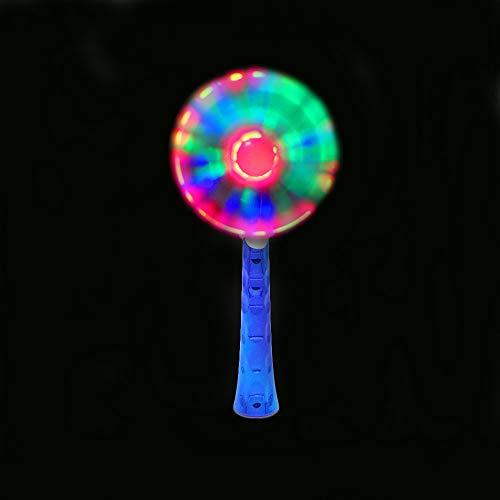 The Glow Company Moulin à vent lumineux et phosphorescent 3 piles AAA incluses