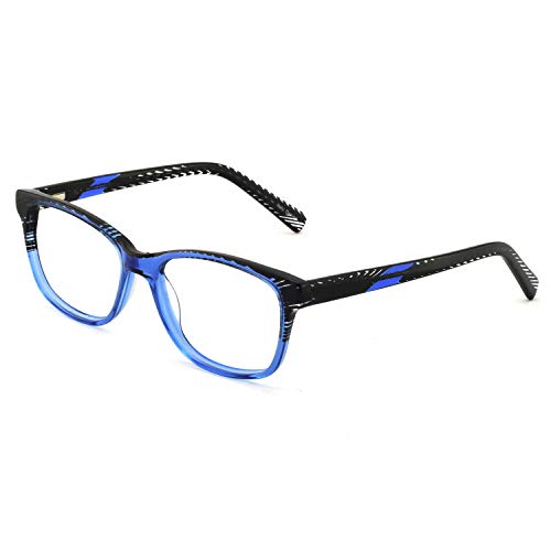 OCCI CHIARI Optische Brillen Rahmen Green Brille Optische Gläser Vintage Metall Oval Brille Leichte Brillen Full Damen