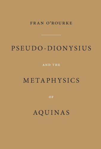 Pseudo-Dionysius and the Metaphysics of Aquinas