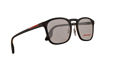 Prada PS06Hv Brillen 54-20-145 Havana Gummi Mit Demonstrationsgläsern US11O1 VPS 06H PS 06HV VPS06H