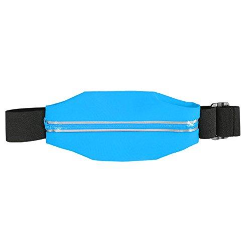 Bauchtasche Hüfttasche iPhone 6s / 6 Sport Waist Bag Handy Street Case Jogging , Farben:Blau Türkis
