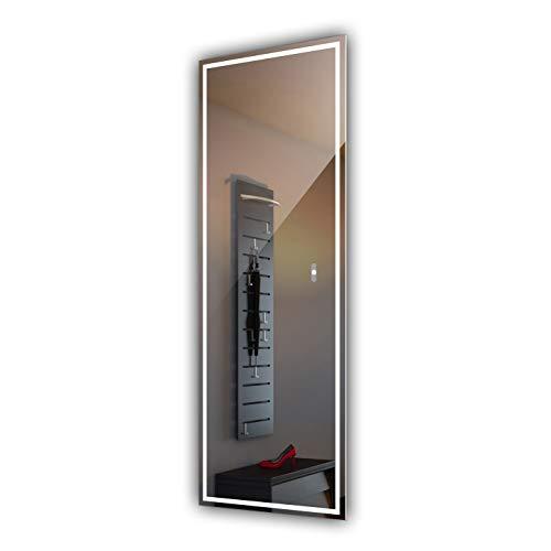 Artforma 60x100cm Espejo con LED Iluminación Moderno para el baño, Sala, Dormitorio, Pasillo con Interruptor...