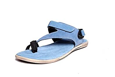 Woodland GD1143112W13 - Blue Casual Sandals for Men Size : (6 UK) or (40 Euro )