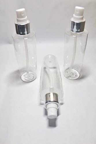 Multipurpose Cosmetic Spray Bottle 128ml (Set of 3) - for DIY Toner, Rosewater, Beauty Mist, Blends, etc
