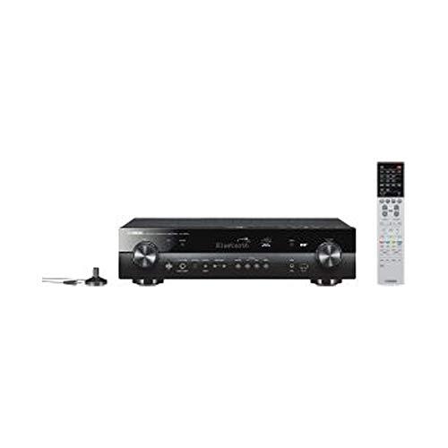 Yamaha AV-Receiver RX-S602 MC schwarz – Slimline Netzwerk-Receiver mit kraftvollem 5.1 Surround-Sound - für packendes Home Entertainment – Music Cast und Alexa kompatibel