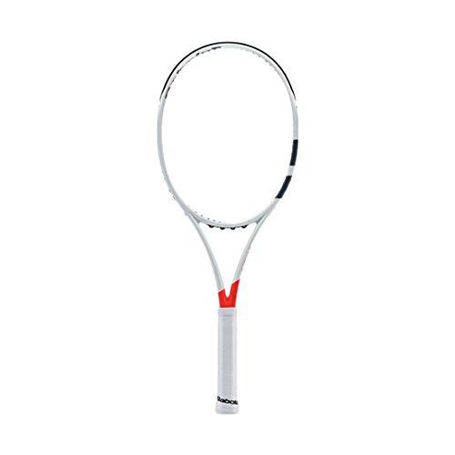 Babolat Pure Strike 16/19 U Raquetas de Tenis, Hombre, Blanco/Rojo, 3