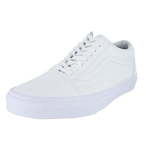 vans unisex erwachsene old skool sneakers weiss