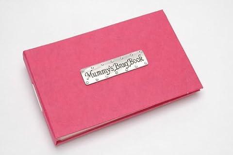 Mummy's Brag Book pewter pocket album
