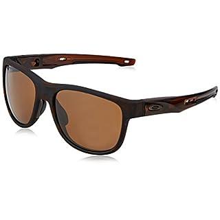 Oakley Herren Crossrange R 935907 57 Sonnenbrille, Braun (Matte Tortoise/Prizmtungstenpolarized),