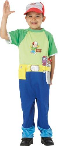Rubie's Handy Manny-Handy Manny Classic Kostüm Talla S (3 - 4 años)