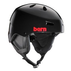 Bern Men's Team Macon All Season Helmet - Gloss Black, 2X-Large/60.5 - 62 cm by Bern