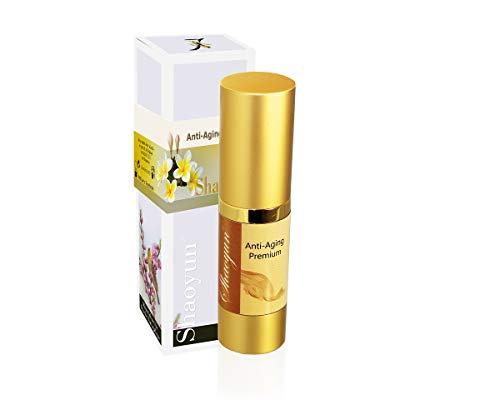 Shaoyun Anti Aging Premium Natürlich, Pflanzlich und frische Gesichts-creme wirkt revitalisierend, unterstützt die Elastizität der Haut. Frische Naturkosmetik (1x15ml)