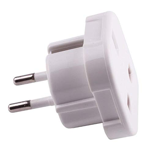 CrazyCable® Reisestecker / travelplug / Adapter plug universal auf DE (150 Länder auf DE Schuko) Reiseadapter mit DE Stecker