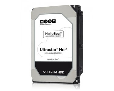 "Price comparison product image HGST Ultrastar He12 12000GB Serial ATA internal hard drive - internal hard drives (12000 GB,  Serial ATA,  7200 RPM,  3.5"",  Surveillance system"