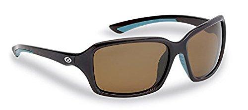 Flying Fisherman Kili-polarisierte Sonnenbrille, Unisex, Brown Frame