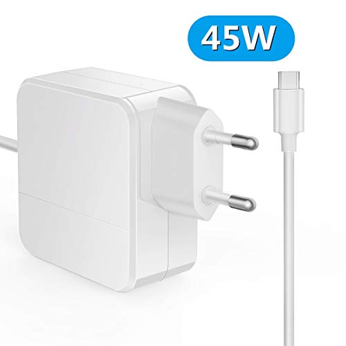 USB C Ladegerät MacBook Pro,45W PD MacBook Air ladekabel für iPad Pro 2018, Nintendo Switch, MacBook Pro 2019/2018/2017/2016, MacBook Air 2019/2018, MacBook, ThinkPad, Dell und andere USB-C Geräte