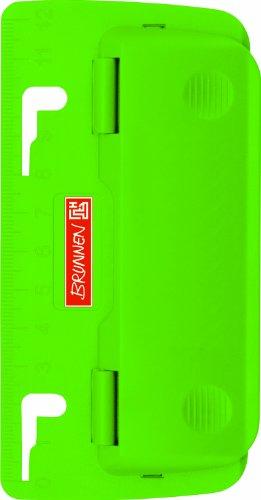 Brunnen Colour-Code Locher (Büro) Taschenlocher grün