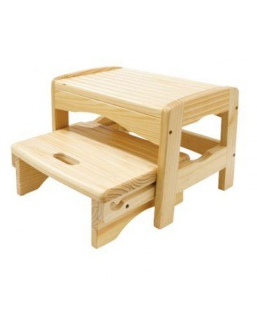Safety 1st Wooden Two Step Stool Safety 1st