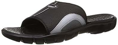 Power Men's Black Hawaii House Slippers - 10 UK/India (44 EU) (8716416)