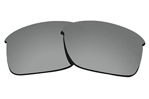 COLOR STAY LENSES 2 mm Dicke polarisierte Ersatzgläser für Oakley Thinlink OO9316 Sonnenbrille, Herren, Titan