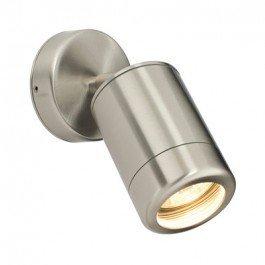SAXBY LIGHTING ATLANTIS DISEñO DE LUNARES IP65 35 W LAMPARA DE PARED (ACERO INOXIDABLE)