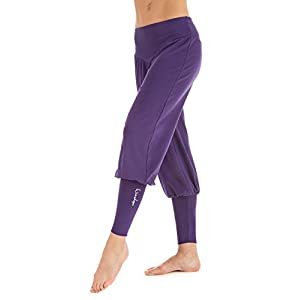 Winshape Damen Fitness Freizeit Sport Yoga Pilates Trainings und Manschettenhose