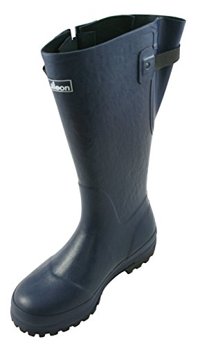 Extra Wide Calf Hard Wearing Country Wellies up to 50cm calf - Durable for Farms, Horses and Dog Walking