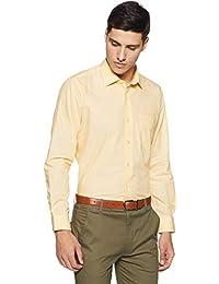 Van Heusen Men's Solid Slim Fit Formal Shirt