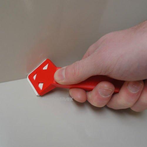 chtung Glatte Out Werkzeug für Bad Dusche Küche Versiegelungsmittel (Rustikale Duschen)