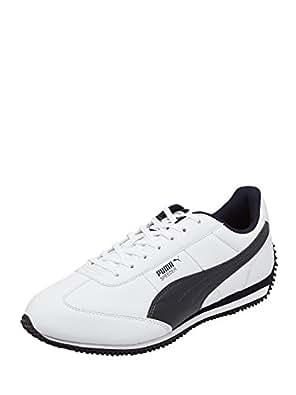 Puma Men's Speeder DP White Boat Shoes - 11 UK /India(46EU)