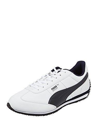 Puma Men's Speeder DP White Boat Shoes – 9 UK/India (43 EU) 31Reiw14kNL