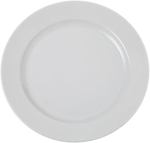 Tognana 30 cm Porcelain Roma Round Platter, Off-White