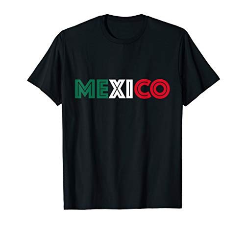 6cdfb31b6 Mexico Flag Soccer Jersey Style for El Tri Supporters T-Shirt