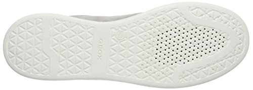 Geox D Jaysen A, Baskets Basses Femme Grey (Gris Clair) (Light Grey)