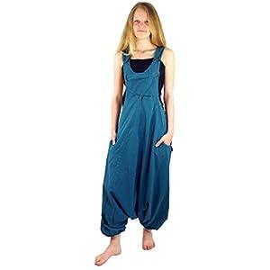 Guru-Shop Latzhose Aladinhose Haremshose Pluderhose Pumphose, Damen, Baumwolle, Pluderhosen & Aladinhosen Alternative Bekleidung