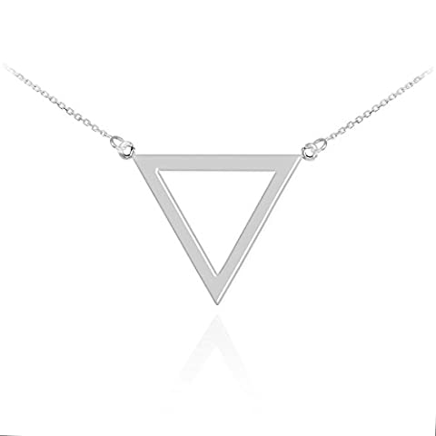 Little Treasures - Polished Sterling Silver Triangle