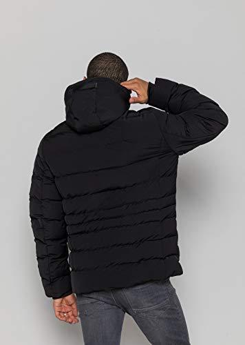 Redskins Sicario Juarez Manteau imperméable, Noir (Noir H19sicjua1), XXX-Large (Taille Fabricant:3X) Homme