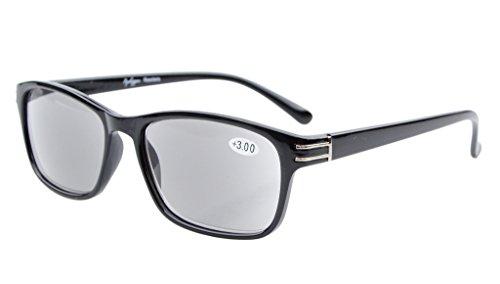 EyekepperGrau getoente Linsen Sonne Leser Lese Sonnenbrillen Herren +0.75