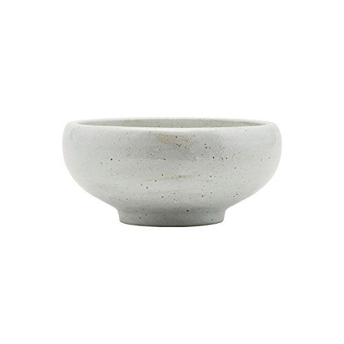 House Doctors Bol/Coque – Made – Couleur : ivoire – Porcelaine – Ø 19 cm, hauteur 9 cm