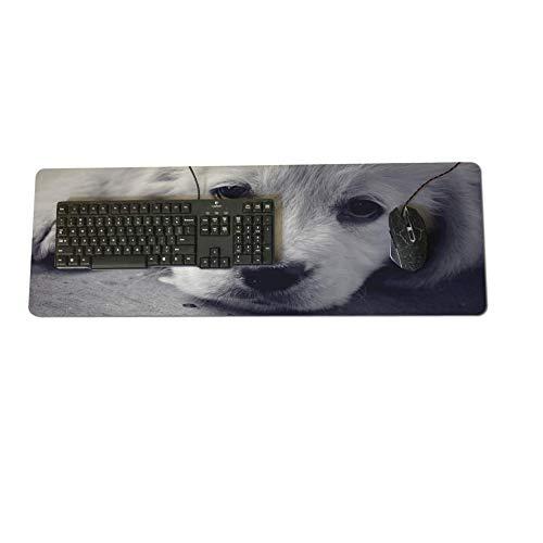 Desktop Pad optische weiche Tapete traurige Augen Hund 300X700X2mm Neuankömmlinge Mauspad