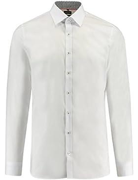 Olymp No.6 Herren Hemd No. Six Super Slim Fit weiss (10) 42