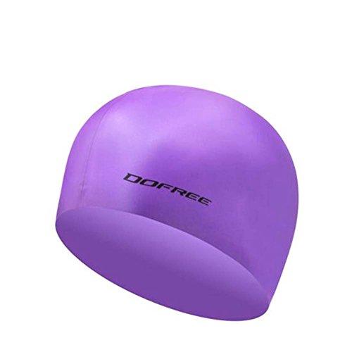 Black Temptation Professionelle spezielle Silikon-Schwimmen-Kappe ungiftige Silikon-weiche Schwimmen-Kappe, A 1