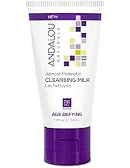 Andalou Naturals Aprikose Probiotische Reinigungsmilch, 50ml