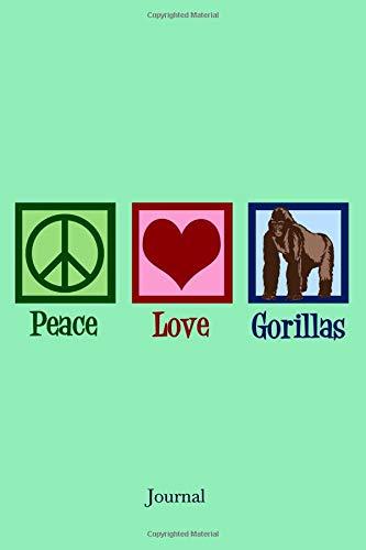 Journal: Cute Gorilla Notebook ()
