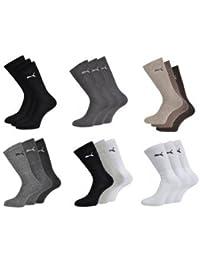 Puma - Unisex Sport Socken 12er Pack - Schwarz