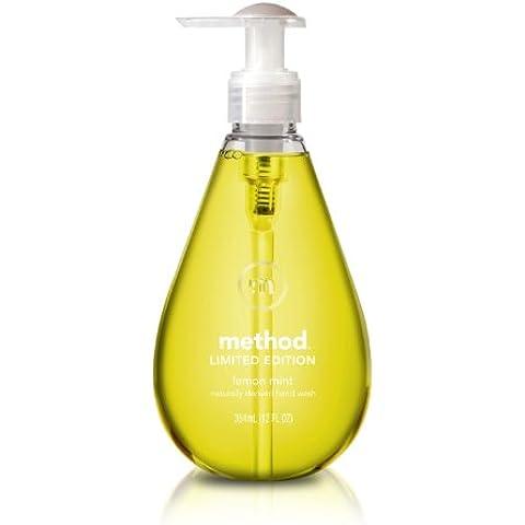 Method - lavaggio a mano di derivazione naturale limone menta