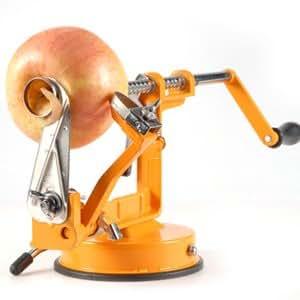 machine plucher et couper les pommes orange cuisine maison. Black Bedroom Furniture Sets. Home Design Ideas