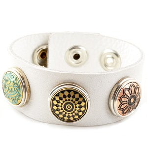 little-chunks-genuine-white-leather-triple-chunk-complete-bracelet-noosa-style-european-interchangea